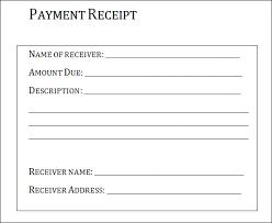 Payment Receipt Sample Under Fontanacountryinn Com