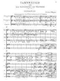 tannhauser wwv wagner richard petrucci music  sheet music