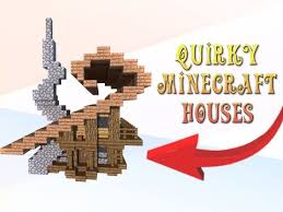 Just ask us what happened when the office ran out of our regular think of it as moving house; Minecraft How To Build Quirky Looking Houses Youtube