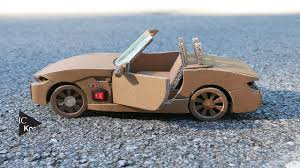 Diy Car Design How To Make Rc Car Bmw Z4 Amazing Cardboard Diy