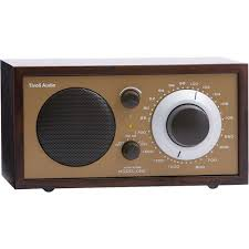 table radio. tivoli model one am/fm table radio (wenge / bronze) -