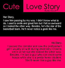 Love Story Quotes Inspiration Cute Love Story I Saw Him Passing By Sayings With Images