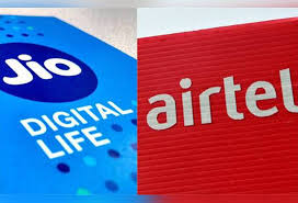 Airtel Rate Chart Reliance Jio Beats Airtel To Become Indias 2nd Largest