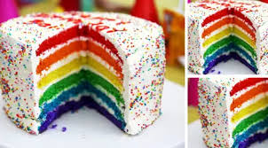 Menikmati bolu kukus pandan tentunya sangat enak dan lezat apalagi bolu. Rainbow Cake Lifestyle Fimela Com