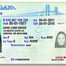 License Michigan Driver Chauffeur Chauffeur Driver License