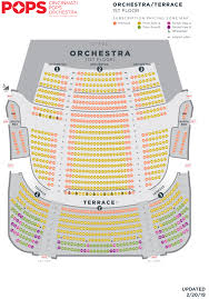 Taft Theater Seating Chart Seating Charts Cso