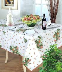 plastic tablecloths with elastic 60 inch round vinyl tablecloth elasticized edge picnic