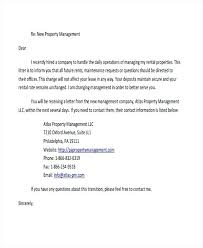 Property Management Cover Letter Template Collection