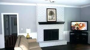 swingeing black brick fireplace white brick fireplace photo 3 of 7 amazing with black mantle and