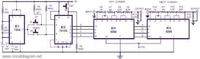 digital tachometer rpm meter schematic design car transistor ignition · stereo digital volume control