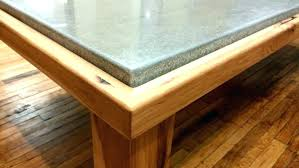 conference table polished concrete furniture center of commerce diy c
