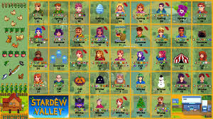 wip widescreen stardew birthday loved foods calendar stardewvalley throughout stardew valley birthdays gifts