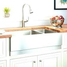double bowl farmhouse sink with kitchen plan cast iron the drainboa basin w54