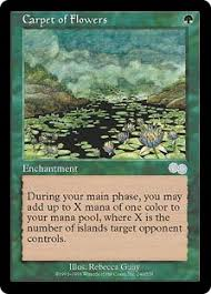 carpet of flowers mtg. carpet of flowers mtg gatherer - wizards the coast