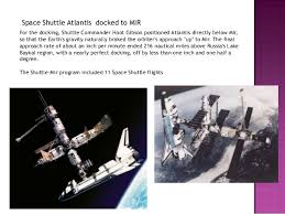 Image result for Atlantis and the 123-ton Mir formed the largest spacecraft ever in orbit.
