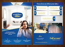 modern feminine flyer design for sutton coldfield dairies by mnm flyer design by mnm for carpet cleaning flyer a5 design 759412