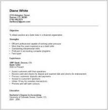 cover letter resume bank teller bank teller resume cover letter