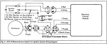87 tfi to 1985 distributor wiring to wire up a duraspark system you only need two wires from the ignition switch hot in start and hot in run