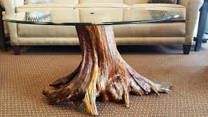 Furniture: Tree Trunk Coffee Table | Wood Stump Side Table | Trunk  pertaining to Tree