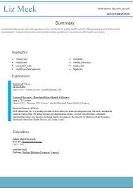 Plain Ideas Resume Template Easy To Use And Free Resume Templates