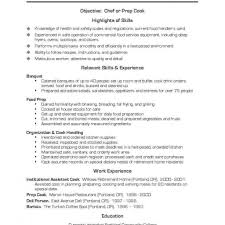 Executive Chef Resume Samples Basic Resume Template Word