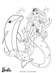 S Dessin Coloriage A Dessiner Barbie Princesse Sirene L L