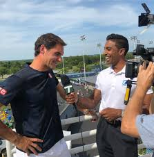 "Prakash Amritraj on Instagram: ""Always a good laugh and some brilliant  talking points when speaking with the Yoda of the game 🎾. This… 