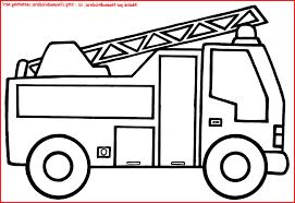 Coloriage Camion Pompier Imprimer Gratuit Printable Coloriage