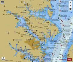 Chesapeake Bay Severn And Magothy Rivers Marine Chart