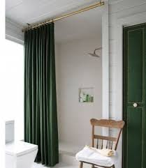 top 25 ideas about long shower curtains on guest curtain rod height
