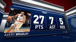 Avery Bradley (27 points) Highlights vs ...