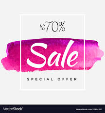 Special Offer Flyer Watercolor Special Offer Super Sale Flyer Banner