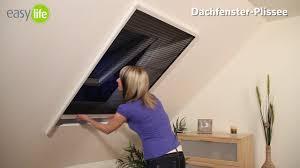 Easy Life Dachfensterplissee 100 X 160 Cm Weiß Farbe Gewebe