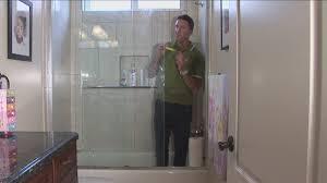 astonishing glass shower cleaner in rain x door water repellent