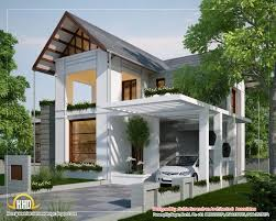 kerala and floor plans european style house with modern house white wall with triangular roof and gray roof tiles also unique white roof the top car garage