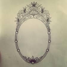 frame tattoo designs. Design Vintage Frame Tattoo Oval Antique  Unfinished Mirror Or Frame Tattoo Designs E
