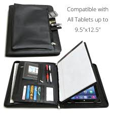 Business Tablet Business Leather Portfolio For Ipad Microsoft Surface Pro