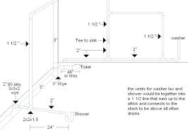 basement toilet plumbing bathroom installing tile in how to install rough for plum