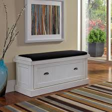Padded Benches Living Room Nantucket Distressed White Upholstered Bench Walmartcom