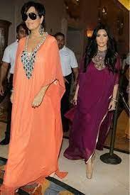 Celebrities Wearing Kaftan Dresses   Fashion, Kaftan style, Arab fashion