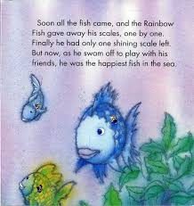 the rainbow fish stunning colorful fish book