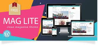 Mag Lite: Best Free WordPress Online Magazine Theme