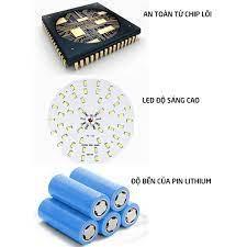 Mua 3+1]Bóng đèn LED sạc tích điện,đèn led sạc pin ánh sáng trắng,có móc  treo nhiều công suất 20,30,40,50W-HL146 - Đèn pin