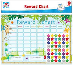 Childrens Sticker Chart Reward Chart 288 Stickers Pen Reusable Kids Behaviour