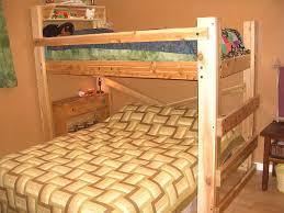 Diy Bunk Bed Queen and Twin
