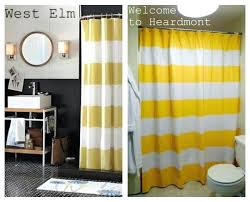 stripe shower curtain enchanting stripped shower curtains inspiration with tutorial how to make a striped shower stripe shower curtain