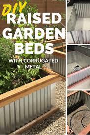 corrugated metal raised garden beds. Corrugated Metal Raised Garden Beds