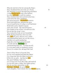 Live A Light On Traduzione Traduzione Di Beowulf By Heaney Docsity