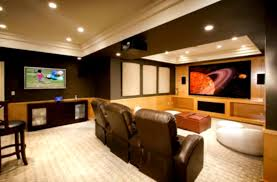 Cool Basement Ideas For Teenagers With Great Lighting And Luxury
