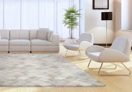 gray and white multi tone cowhide patchwork rug